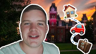 COLLEGE MOVE-IN VLOG AT WVU 🏡💛💙
