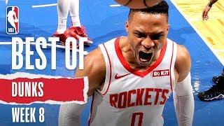 NBA's Best Dunks | Week 8 | 2019-20 NBA Season