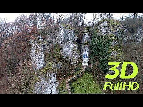 [3DHD] Trial video: Mnikowska Valley, Mnikow, Poland / Dolina Mnikowska, Mników, Polska