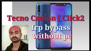 TECNO IN6(I6) (Camon i click) PATTERN UNLOCK AND HARD RESET WITHOUT