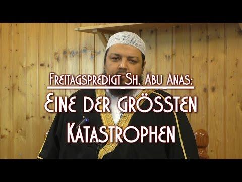 EINE DER GRÖSSTEN KATASTROPHEN mit Sh. Abu Anas am 18.12.2015 in Braunschweig