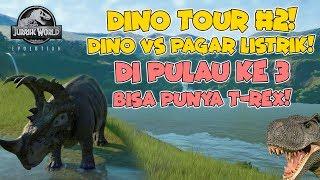 Akhirnya Pulau Ke 3 Jurasssic Park Dibuka! Bisa bikin T-REX DEH! - Jurassic World Evolution