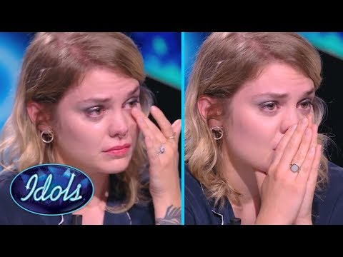 MOST EMOTIONAL AUDITION EVER | Judge Breaks Down After Contestant Sings Her Song |