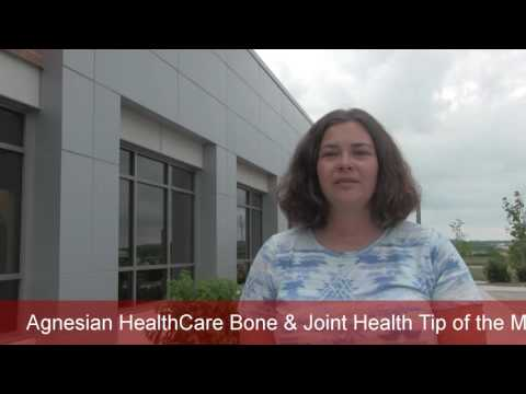 Agnesian HealthCare Bone & Joint Health Tip of the Month: July 2016