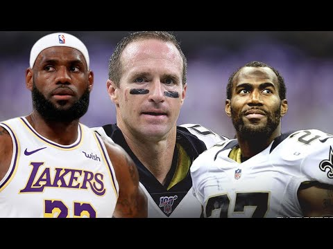 Lebron James & Michael Thomas Drag Drew Brees On Twitter For Tone Deaf Remarks