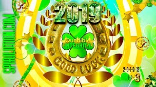 ★2019 GOOD LUCK CHARM! ATTRACT LUCK NOW +528hz MIRACLE TONE! SUBLIMINAL FREQUENCY-QUADIBLE INTEGRITY