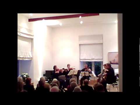 Quintett, Adolf Busch, first mouvement