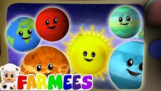 Cancion De Los Planetas   Rimas para niños   Educación   Farmees Español   Videos infantiles