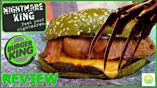Burger King®   Nightmare King™   Taste Test & Review! 😱👑