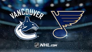 Vancouver Canucks vs St. Louis Blues | Dec.09, 2018 | Game Highlights | NHL 2018/19 | ????? ?????