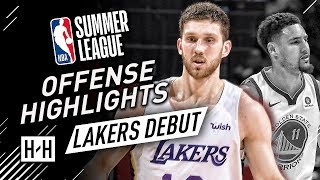 Svi Mykhailiuk Full Offense Highlights at 2018 NBA Summer League - LA Lakers Debut!