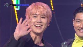 [뮤직뱅크] 10월 4주 1위 슈퍼주니어(Super Junior) -  SUPER Clap 세리머니 Cut