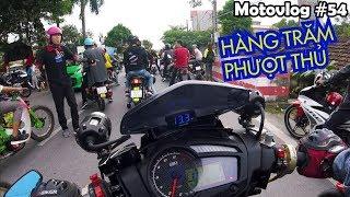 Hàng trăm phượt thủ Nam Định diễu hành quanh thành phố trong sự kiện Big Off | Motovlog 54