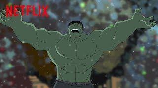 The Hulk Explains Christmas | Marvel's Super Hero Adventures: Frost Fight! | Netflix Futures
