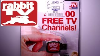 Rabbit Tv USB  - Does it work? Is it worth it? -- Unboxing and review!