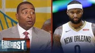 Cris Carter on Boogie Cousins' toughest challenge with the Warriors   NBA   FIRST THINGS FIRST