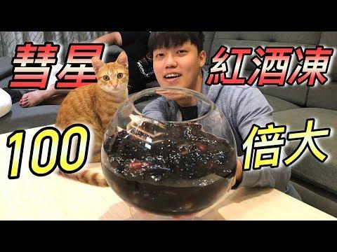 【狠愛演】彗星紅酒凍!100倍大『吃出驚人口感』