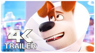 SECRET LIFE OF PETS 2 : 12 Minute Clips + Trailers (4K ULTRA HD) NEW 2019
