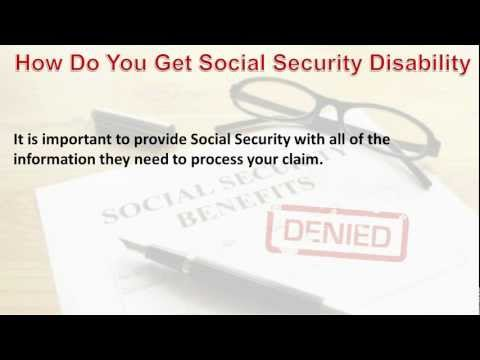How Do You Get Social Security Disability