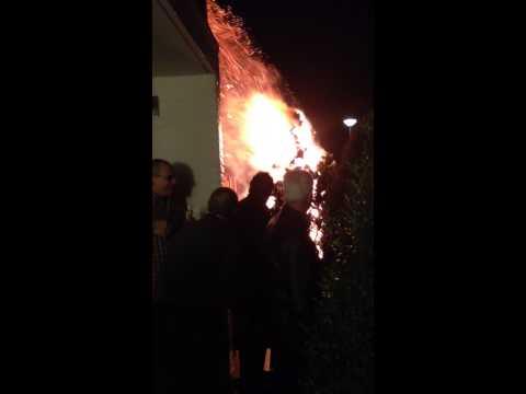 Nieuwjaarsbrand Geleen Stickerstraat