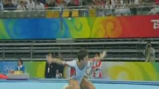 Oksana Chusovitina -  2008 Olympic Games -  Qualifications FX