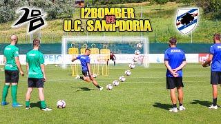 I2BOMBER VS SAMPDORIA  - Free Kick CHALLENGE   Caprari Capezzi Ramirez