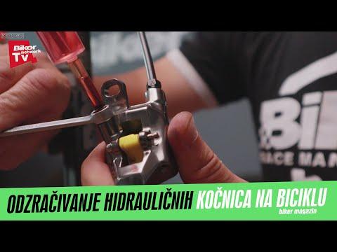 Kako odzračiti hidraulične kočnice!