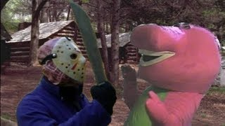 Jason Vs Barney The Dinosaur