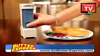 Butter Express Commercial As Seen On TV Buy Butter Express As Seen On TV Butter Cutter