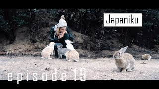 Solo Trip to Japan: Bunny Fever in Okunoshima (Rabbit Island) | Japaniku episode 19 (Ikutree)