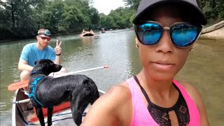 Summer Family Vacation with My In-laws, Camping in the Woods, River Rafting and Canoeing