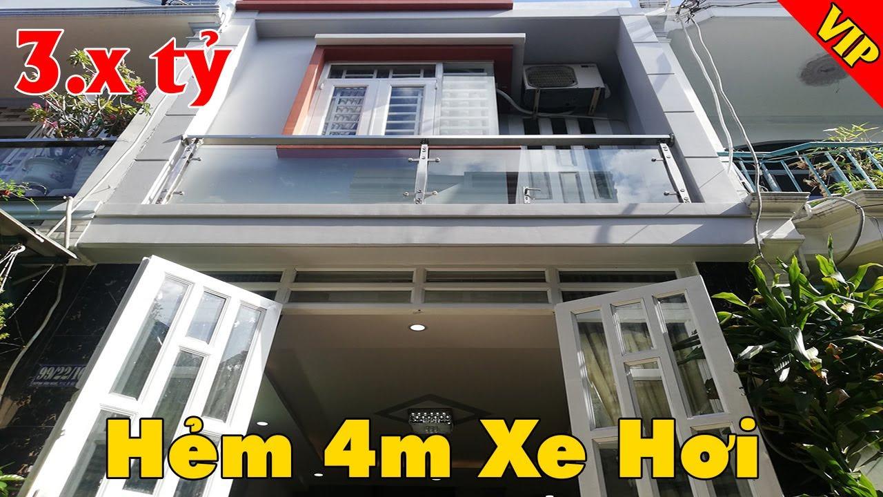 Nhà chính chủ chỉ 3,6 tỷ đường Huỳnh Văn Nghệ, phường 12, quận Gò Vấp, hẻm xe hơi, sổ hồng riêng video