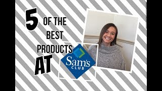 Best 5 Products To Buy At Sams Club| Sams Club Favorite Buys| Scan and Go App Review| Collab
