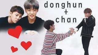DongChan Cute Moments (A.C.E Donghun + Chan)