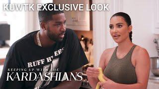Tristan Thompson Gets Kim Kardashian's Advice on Khloé | KUWTK Exclusive Look | E!
