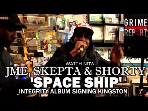 Jme, Skepta & Shorty 'Spaceship' Freestyle [Integrity Album Signing Kingston]