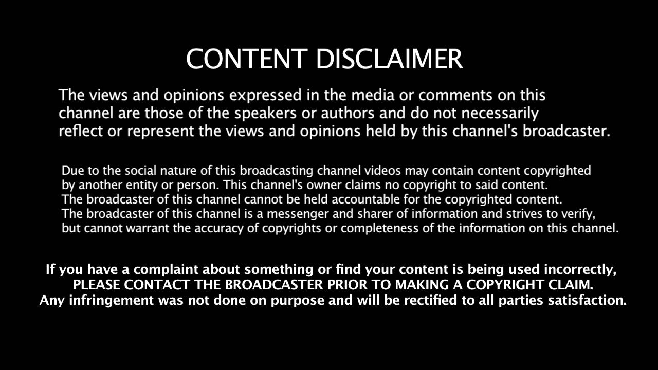 Disclaimer: Fair Use Disclaimer