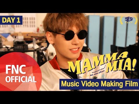 SF9 – MAMMA MIA M/V Making Film_DAY1