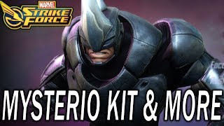 Minn-Erva Coming to Orbs - Mysterio Kit - Rhino Gameplay - MARVEL Strike Force - MSF