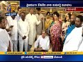 MP Kesineni Nani Daughter Marriage Held at Hyderabad