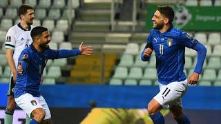 Highlights: Italia-Irlanda del Nord 2-0 (25 marzo 2021)