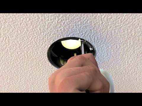 LED Adjustable Wall Wash Recessed Light