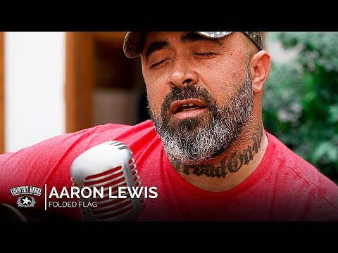 Aaron Lewis - Folded Flag (Acoustic) // Country Rebel HQ Session