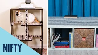 4 Ways To Upcycle An Old Bookcase