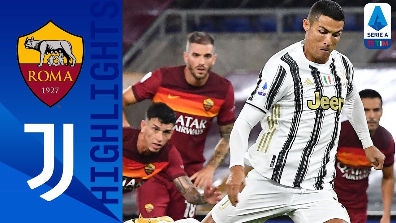Roma 2-2 Juventus | Ronaldo's brace ensures Juventus a point | Serie A TIM