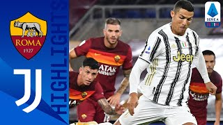 Roma 2-2 Juventus | Ronaldo's Brace Rescues a Point for Juventus! | Serie A TIM
