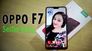 Oppo F7 Unboxing & Overview - In Hindi