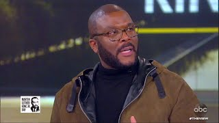 """Tyler Perry on Making His New Movie """"A Fall From Grace""""   The View"""