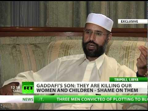 Gaddafi\'s son: Libya like McDonald\'s for NATO - fast war as fast food