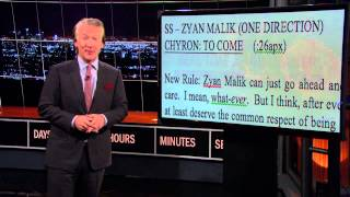 Real Time with Bill Maher: Explaining Jokes to Idiots – #RespectForZayn Edition (HBO)